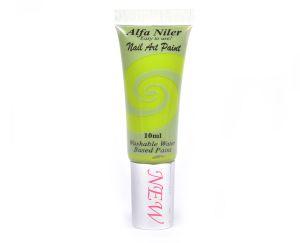 Akril festék - alma zöld 10ml - Alfa Nails