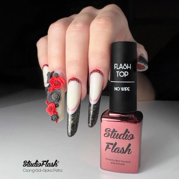 Flash Top - No Wipe / Fényzselé fixmentes 12 ml StudioFlash