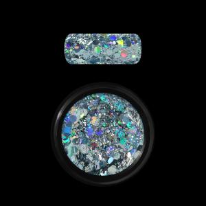 Holo Glitter Mix - Light blue