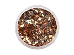Glitteres csillámpor - bronz