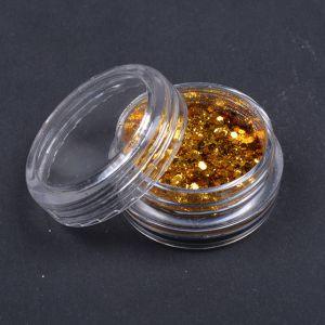 Glitteres csillámpor - arany