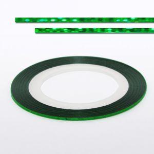 Körömdíszítő szalag - zöld