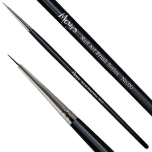 Ecset - MOYRA Nail Art Brush Serious No.00 - díszítő #00