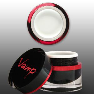 Vamp - fehér francia zselé - Snow white - közepes sűrűségű - 5g