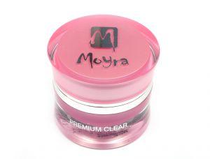 Prémium Clear - építő zselé közép sűrű áttetsző 30g - Moyra