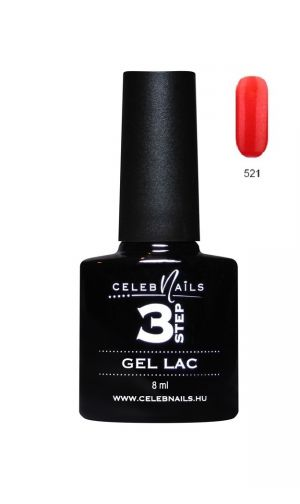 Gél lakk - 8ml #521 - Celeb Nails