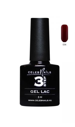 Gél lakk - 8ml #034 - Celeb Nails