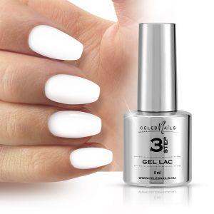 Gél lakk - 8ml - super white - Celeb Nails