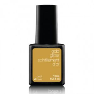 Gél lakk - Gold Glitter 7,39ml - Sensationail