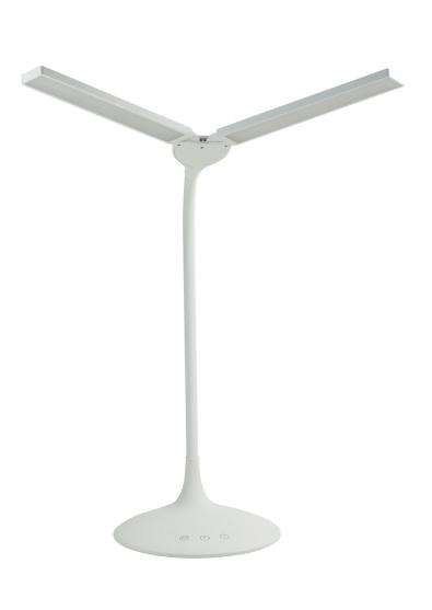 Asztali műkörmös LED lámpa - kétágú