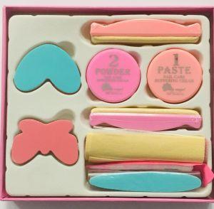 Japán manikűr készlet - rózsaszín