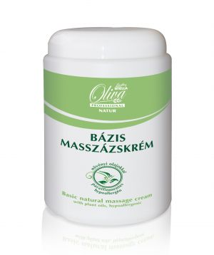 Bázis masszázskrém - olíva - 1000 ml