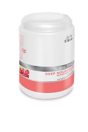 Mélytápláló masszázskrém - szőlőmagolaj - 1000 ml