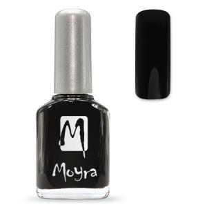 Körömlakk - fekete #35 - 12ml - Moyra