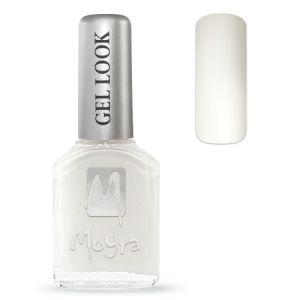 Körömlakk - Gel Look 944 fehér 12ml - Moyra