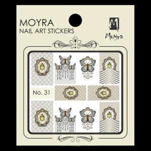 Körömmatrica #31 - Moyra