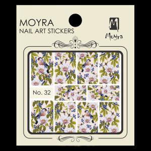 Körömmatrica #32 - Moyra