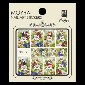 Körömmatrica #30 - Moyra