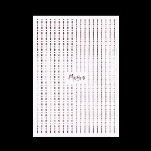 Körömdíszítő csíkok - Dots #03 Rosegold