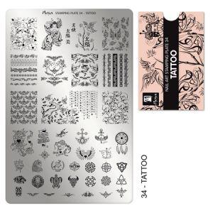 Nyomdalemez #34 Tattoo - Moyra