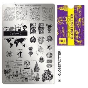 Nyomdalemez #01 Globetrotter - Moyra