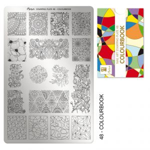 Nyomdalemez #48 Colourbook - Moyra