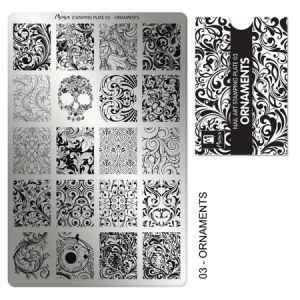 Nyomdalemez #03 Ornaments - Moyra
