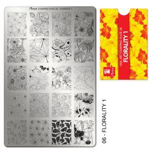 Nyomdalemez #06 Florality 1 - Moyra