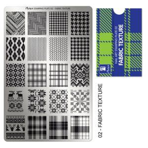 Nyomdalemez #02 Fabric Texture- Moyra