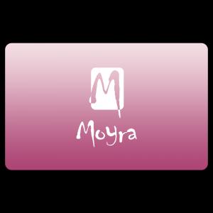 Nyomdalemez lehúzó kártya - Rózsaszín Moyra