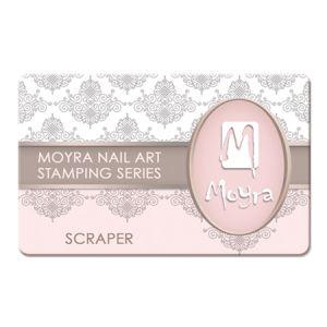 Nyomdalemez lehúzó kártya - pink Moyra