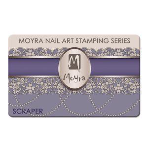 Nyomdalemez lehúzó kártya - lila Moyra