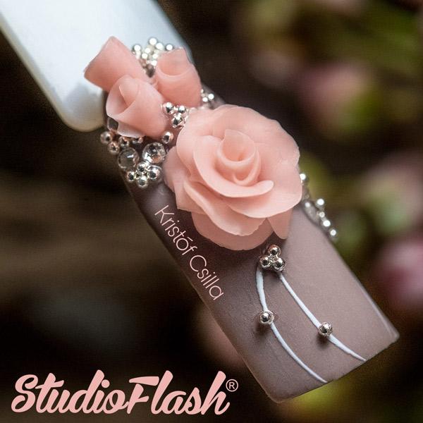 3D Plasti Rózsa