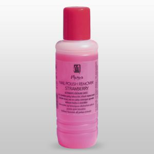 Körömlakk lemosó - acetonmentes strawberry 100ml