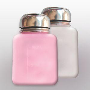 Pumpás adagoló - fém kupakos, rózsaszín 120ml