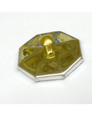 Fém tető üvegtálkához