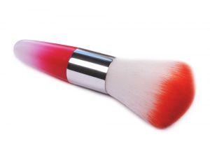 Portalanító kefe - beauty piros