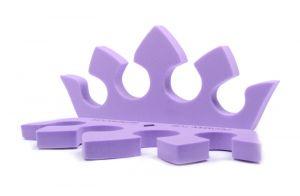 Lábujj elválasztó szivacs lila 1pár - Alfa Nails