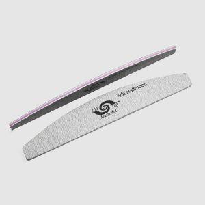 Reszelő - 100/180 félhold szürke - Alfa Nails