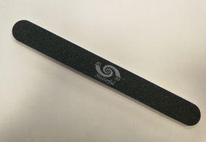 Reszelő - 80/80 egyenes fekete - Alfa Nails