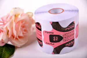 Rose Nail Form - Műköröm Sablon - 300 db