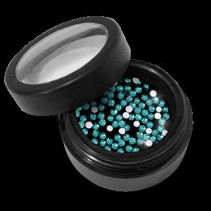 Strasszkő - 09 Blue Zircon - ss3 - 100db