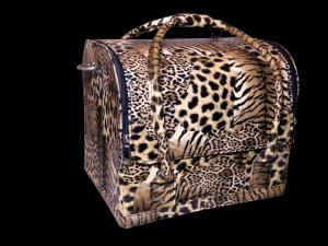 Beauty táska - párduc mintás
