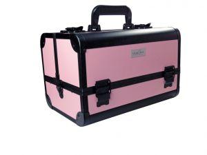 Beauty táska - rózsaszín-fekete