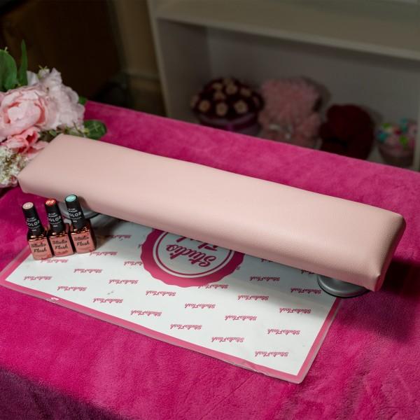 Kéztámasz - közepes 50 cm - pasztell pink - LS Beauty