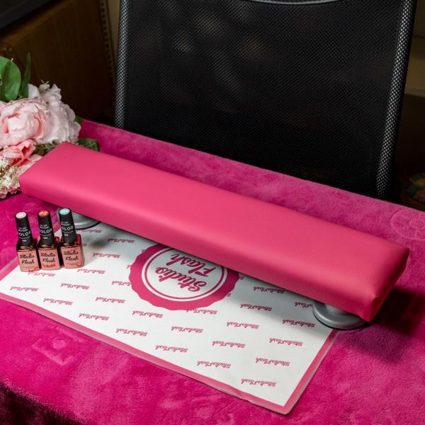 Kéztámasz - közepes 50 cm - dark pink - LS Beauty