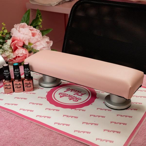 Kéztámasz - kicsi 35 cm - pasztell pink - LS Beauty