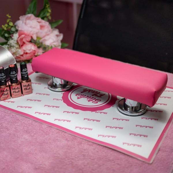 Kéztámasz - kicsi 35 cm - dark pink - LS Beauty