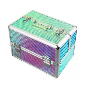 Műkörmös táska - Unikornis rainbow hot - kicsi