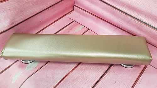 Kéztámasz - közepes 50 cm - metál pezsgő (west2) - LS Beauty